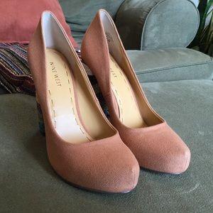 """Textile 4.5"""" Heels"""